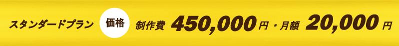 スタンダードプラン45万円